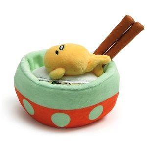 Accessories - Gudetama in Noodle Bowl Plush